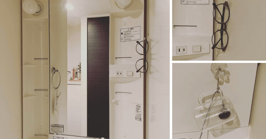 一人暮らし30代ミニマリスト女性の部屋(洗面所)