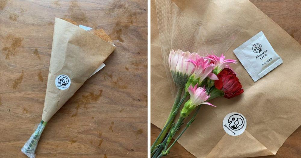 花の定期便 Bloomee LIFE(ブルーミーライフ)から届いた花
