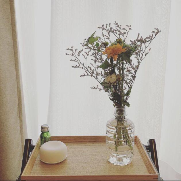 ブルーミーライフから届いた花