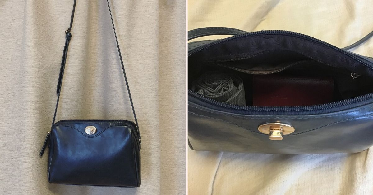 ミニマリストのショルダーバッグの写真