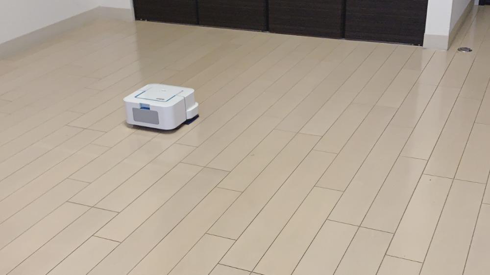 ミニマリストのお掃除ロボット(ブラーバジェット240)