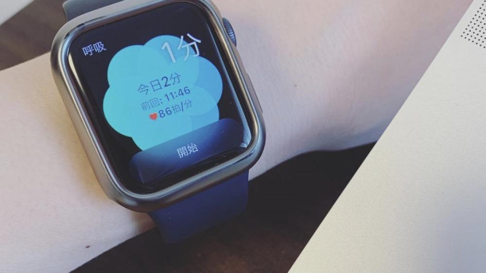 スマートウォッチ(Apple Watch series4)