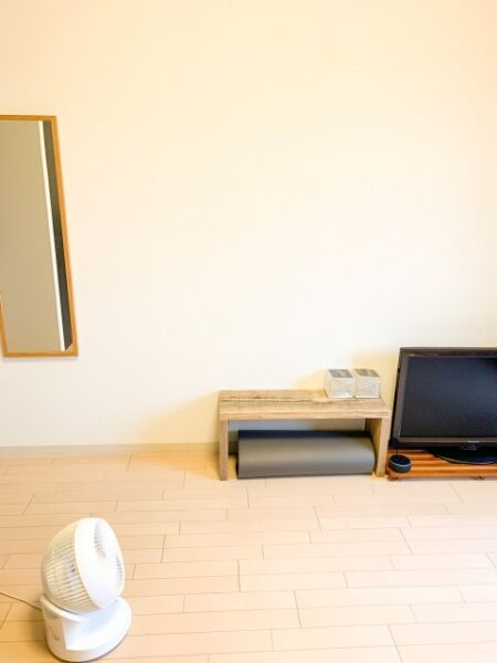 ミニマリストの部屋(一人暮らし)